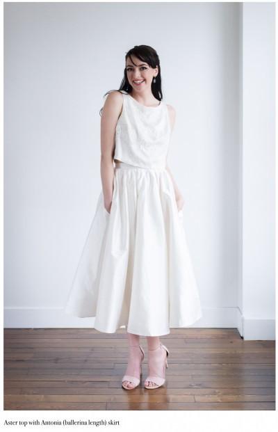 Kathryn Bass Antonia skirt, Sierra top