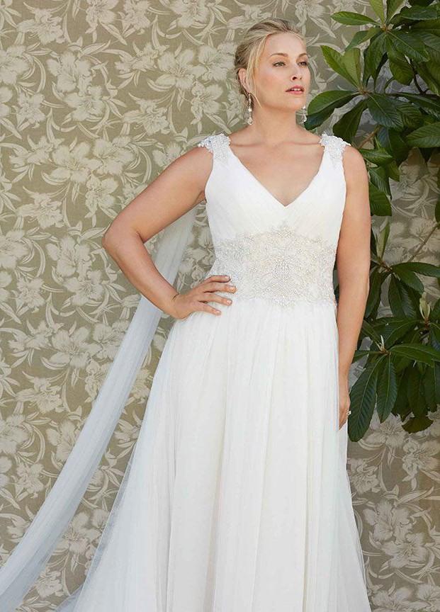 Casablanca Bridal Dahlia 2272