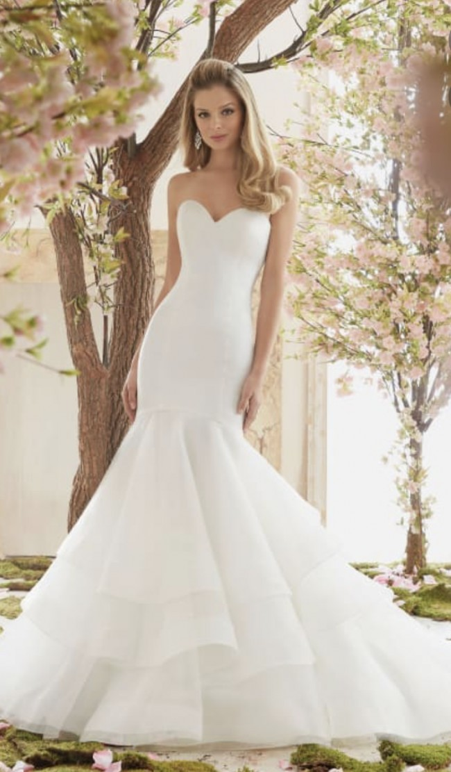 Morilee Voyage Style no: 6837 Chic Mermaid Wedding Dress F