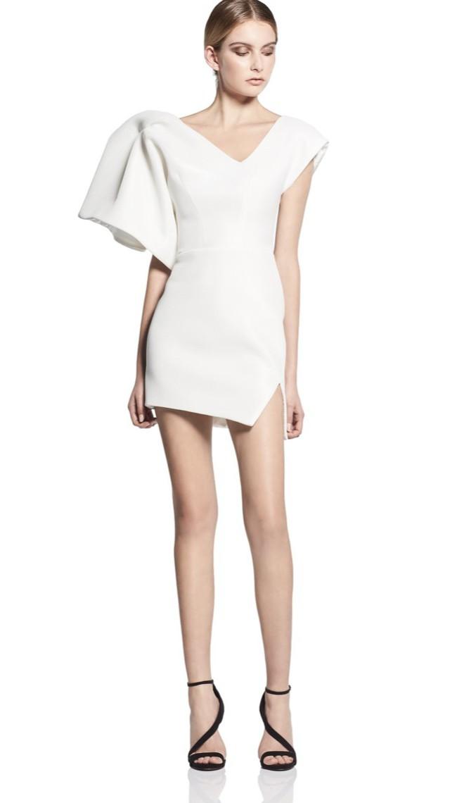 Toni Maticevski, Peacock cocktail dress