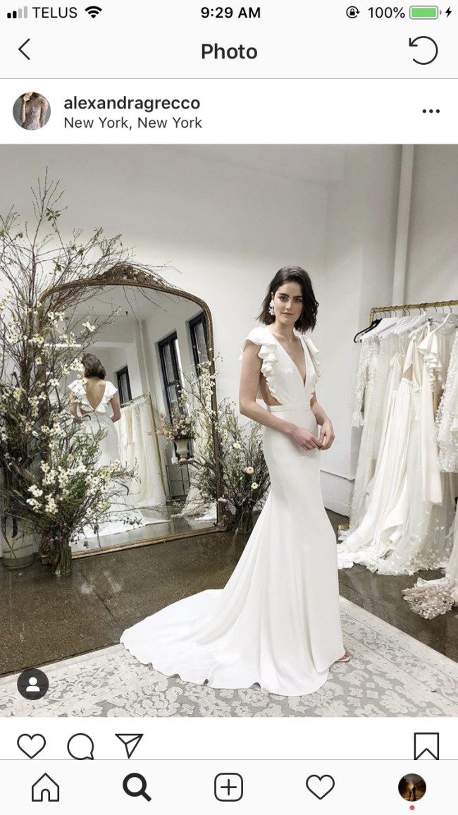 Alexandra Grecco Lucy New Wedding Dress On Sale 20 Off
