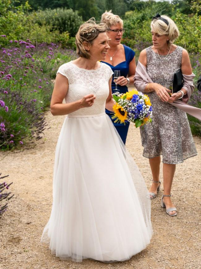 Mikaella Bridal, Lace & Tulle Wedding Dress #2068