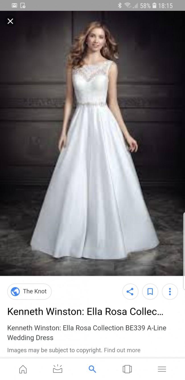 a28ae57a0d94 Kenneth Winston Ella Rosa Felicity BE339 Second Hand Wedding Dress ...