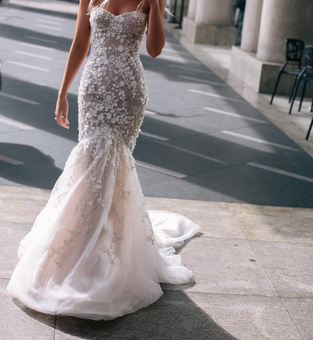 4f689fba2c92 Steven Khalil Second Hand Wedding Dress on Sale - Stillwhite South ...