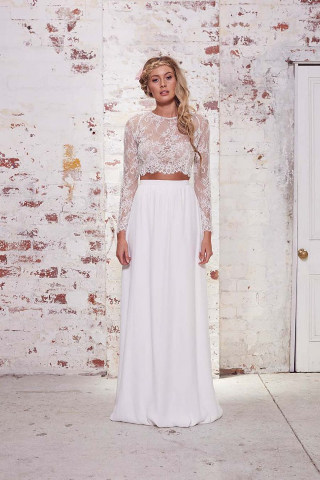 Karen Willis Holmes Tillie top and Natasha skirt