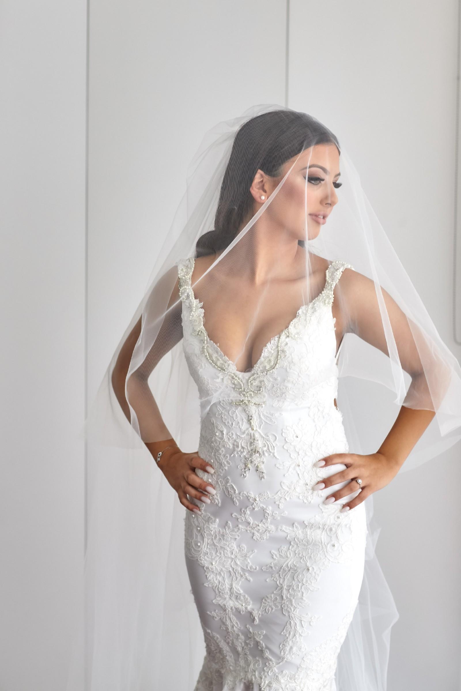 2e0e28e2831 Nektaria Candice Gown (Custom made) Preowned Wedding Dress on Sale ...
