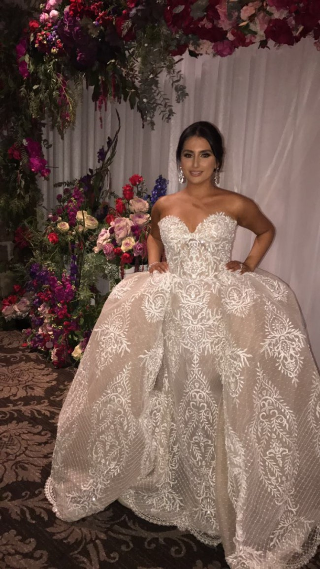 Norma Bridal Couture Custom Made size 8-10