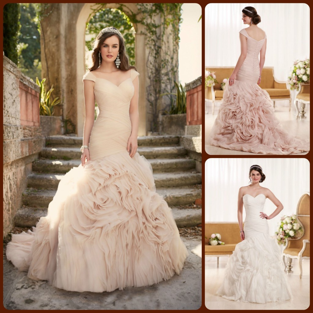 Essense Of Australia D1932 New Wedding Dress On Sale 40