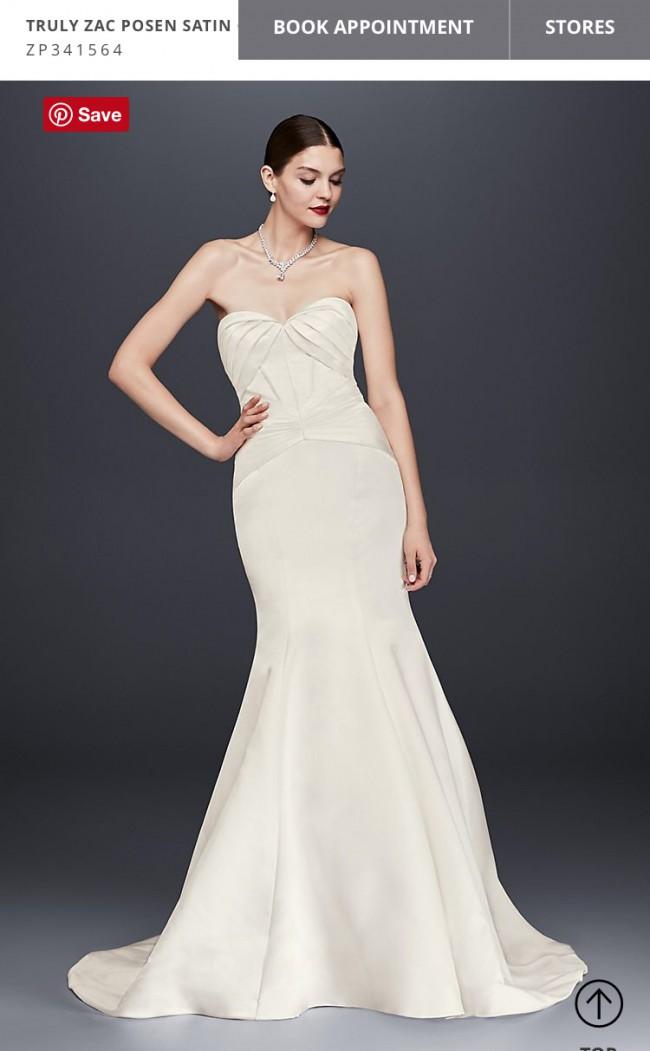 70186c01deed Truly Zac Posen ZP341564 Sample Wedding Dress on Sale 19% Off ...