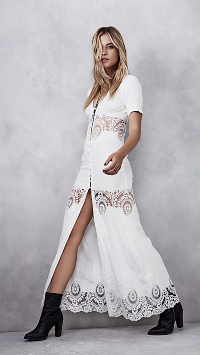 8c73f2b3c8e Stone Cold Fox Octavia Gown New Wedding Dress on Sale 51% Off ...