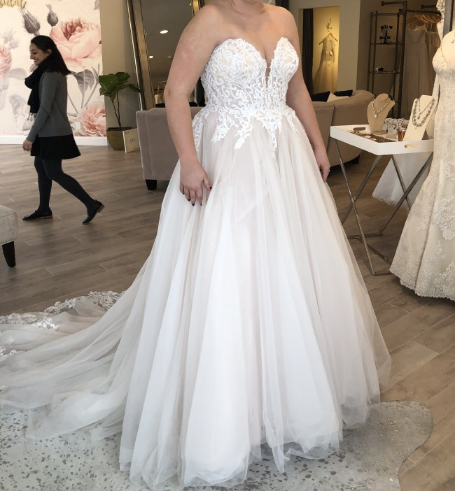 Allure Bridals 9715