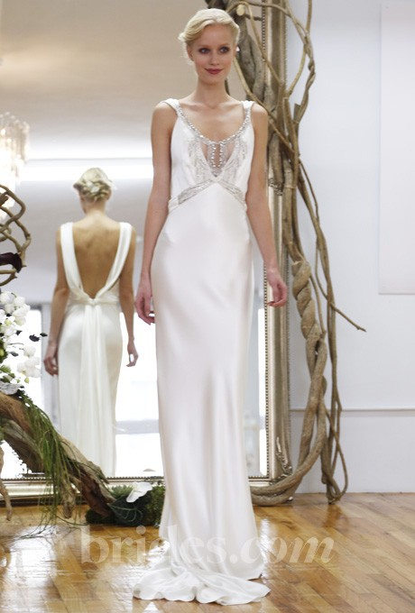 cf4cacf3788 Elizabeth Fillmore Jewel Used Wedding Dress on Sale 70% Off ...
