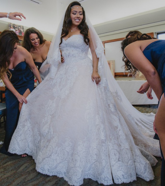 Allure Bridals C481