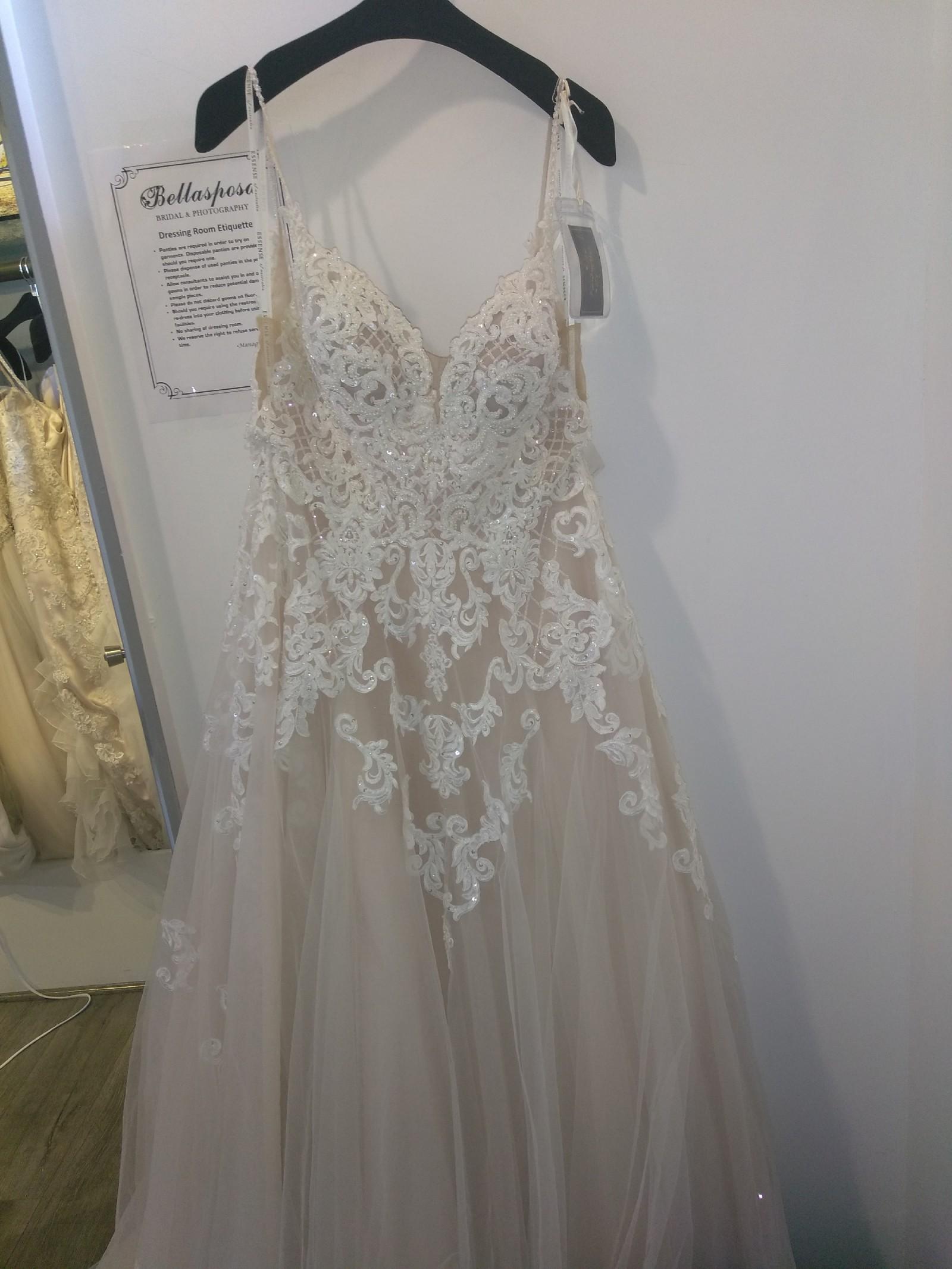 Wedding Dress Fabric.Essense Of Australia D2363 1q Modern Boho Wedding Dress Fabric Lace Wedding Dress On Sale 32 Off