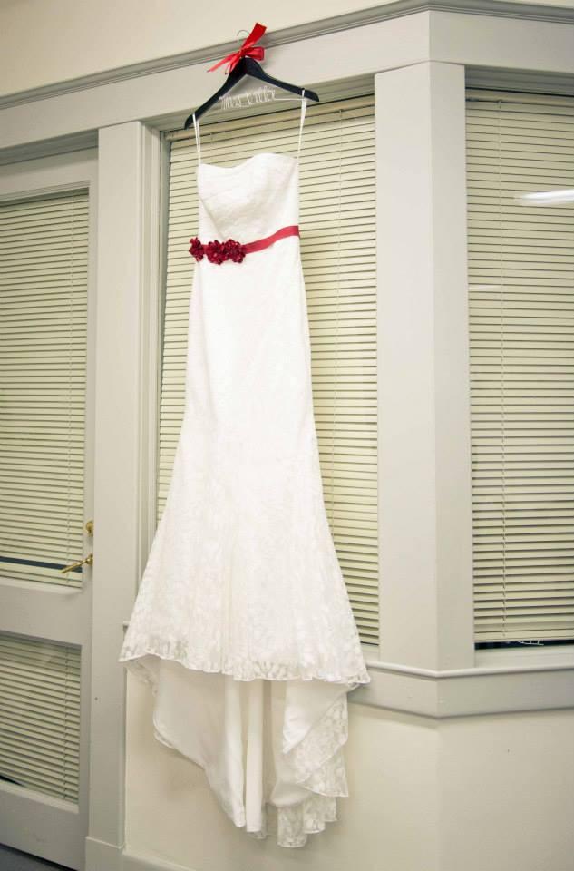 David's Bridal Galina WG3381