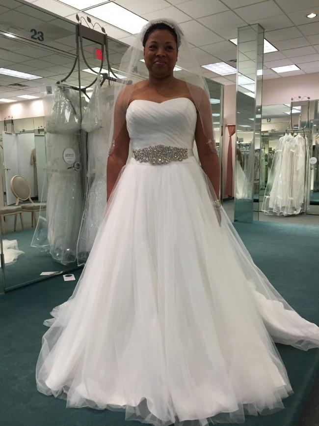 David's Bridal MK3576