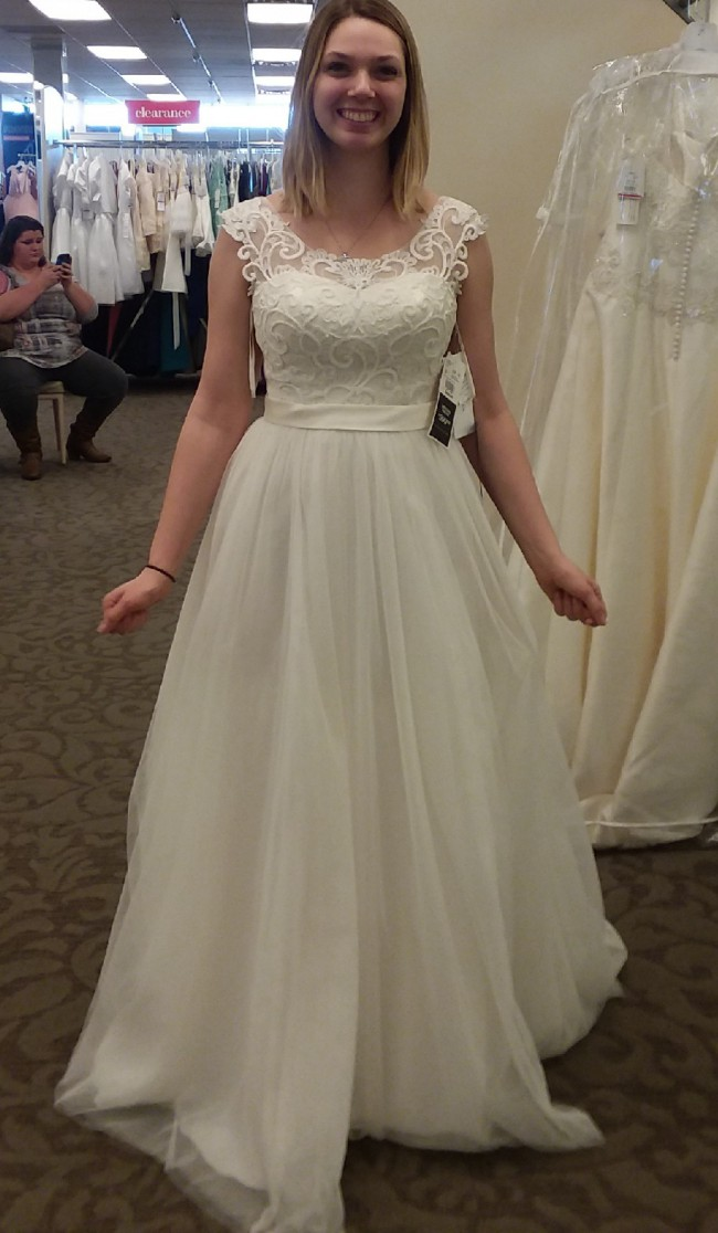 David's Bridal WG7341