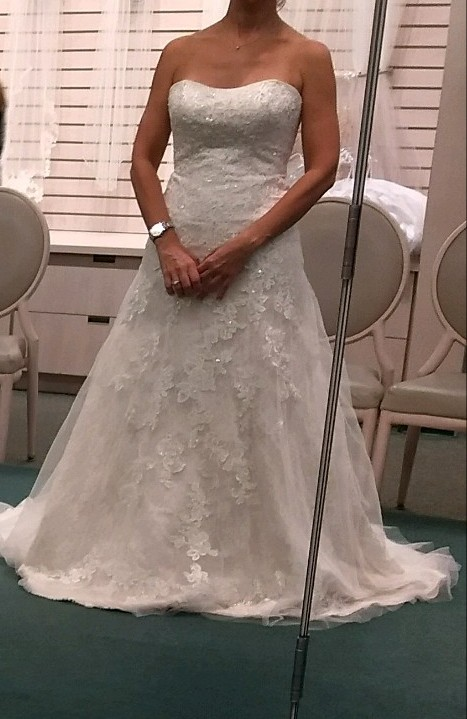 86f7967e373 Jewel Jewel Lace A-Line Wedding Dress with Beading WG375 New Wedding Dress  on Sale 39% Off - Stillwhite South Africa