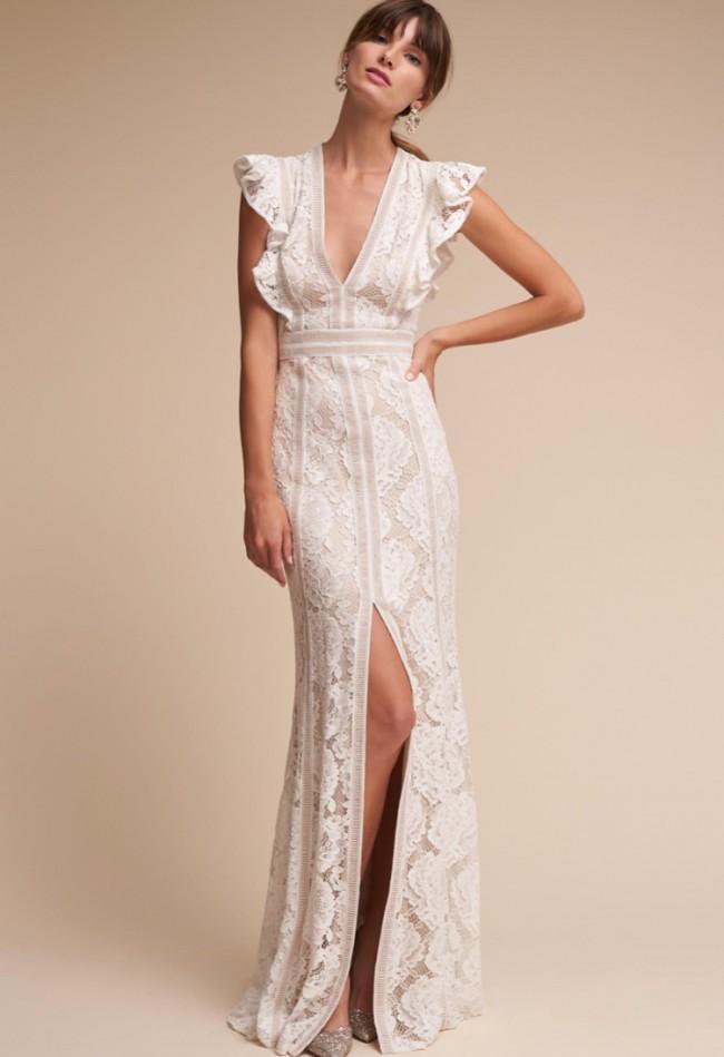 65cdf06427e9 Tadashi Shoji BHLDN Placid Gown Second Hand Wedding Dress on Sale 35 ...