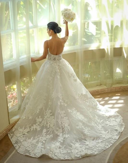 Monique Lhuillier Monique Lhuillier Maeve Wedding gown white size 2/