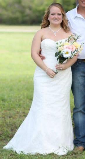 David's Bridal WG3263