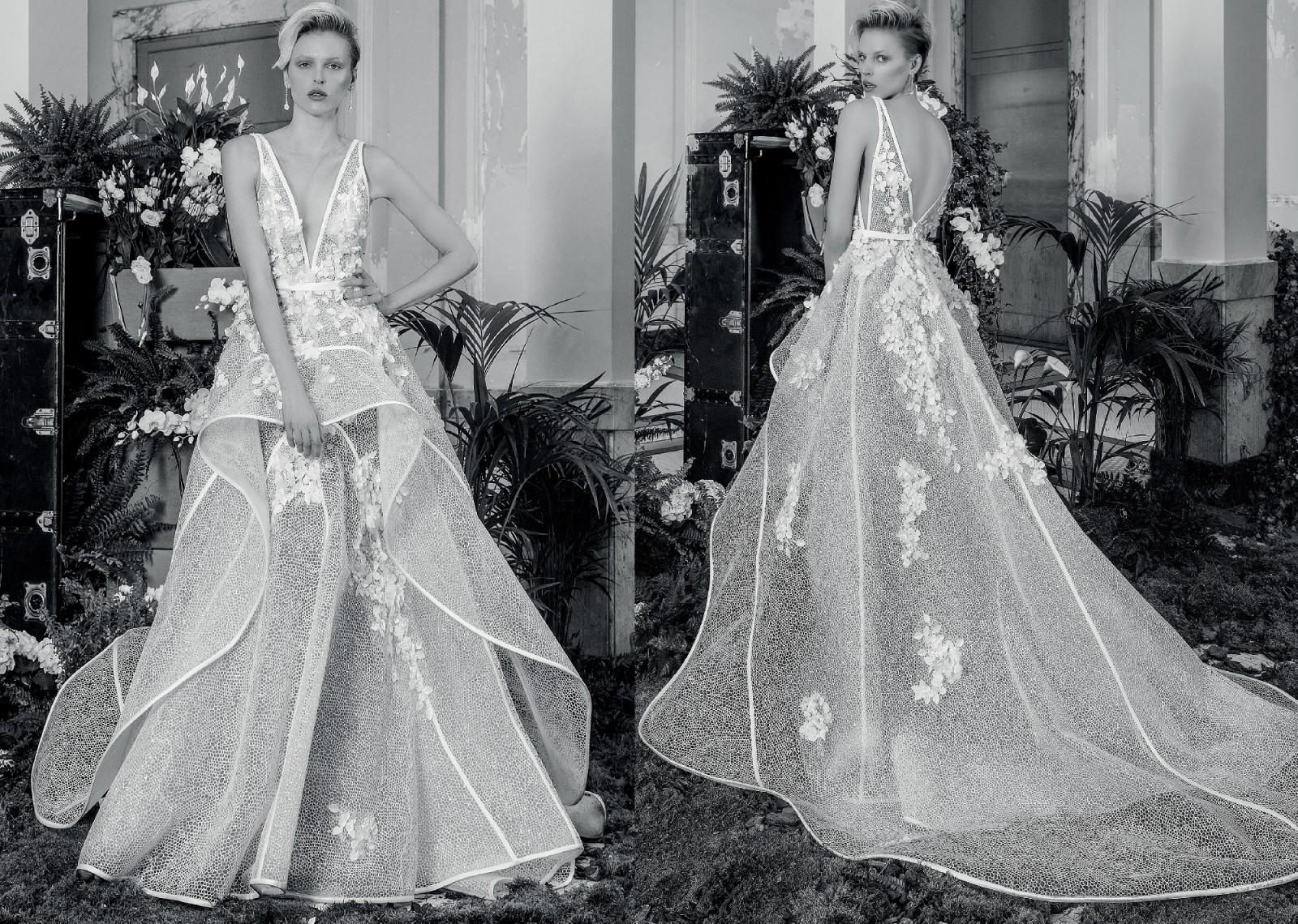 new concept 23c8b b6234 Valentini Spose Valentini Couture by J'Aton V1108 IDEA Wedding Dress On  Sale - 40% Off