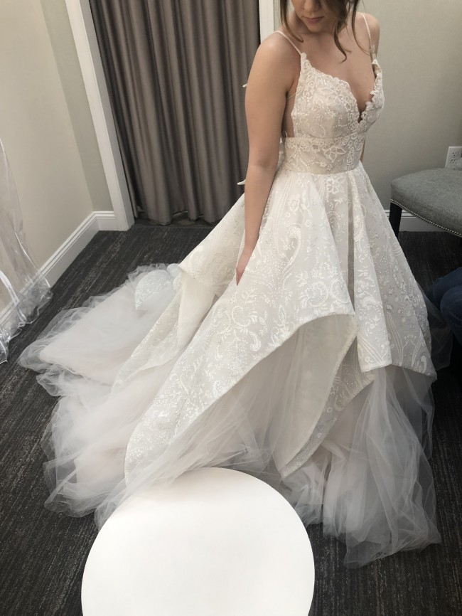 Hayley Paige Markle gown