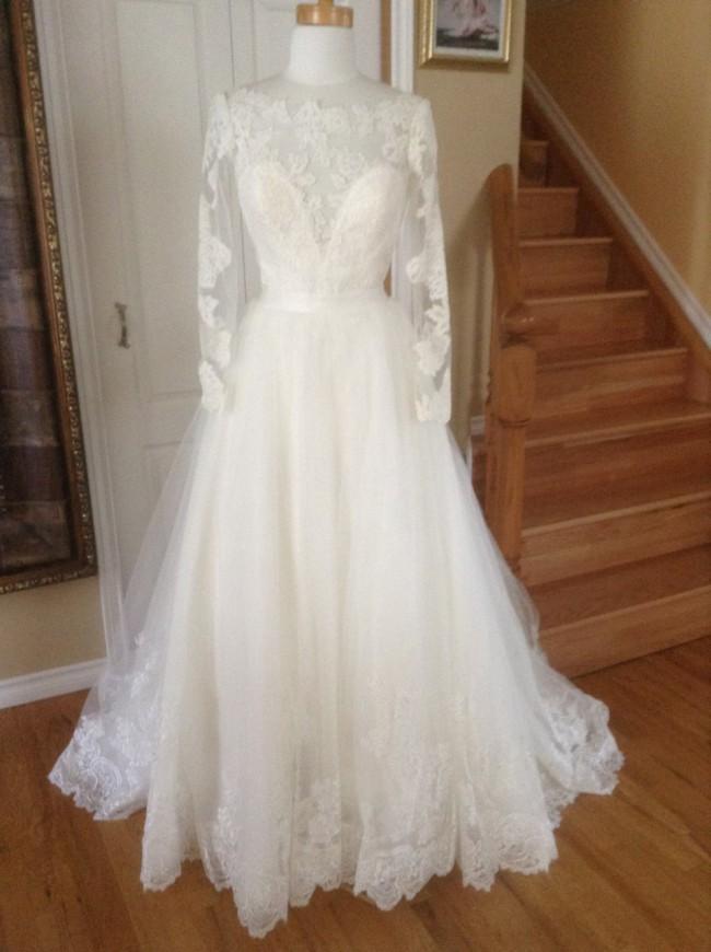 Allure Bridals Custom Made , new