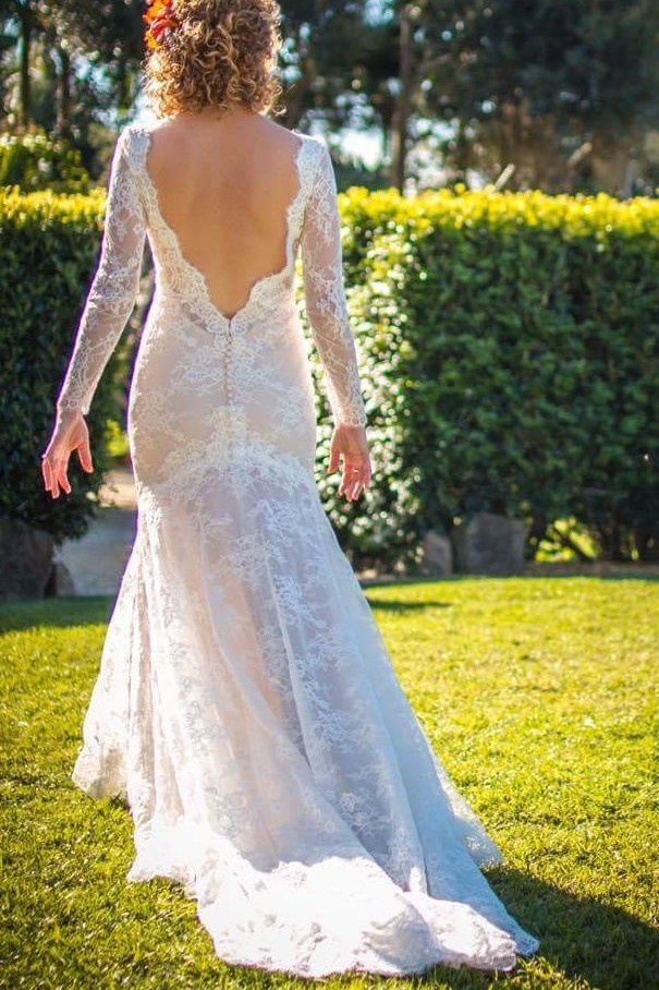 Martina Liana 700 Embroidered Low Back