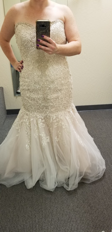 Allure Bridals W375