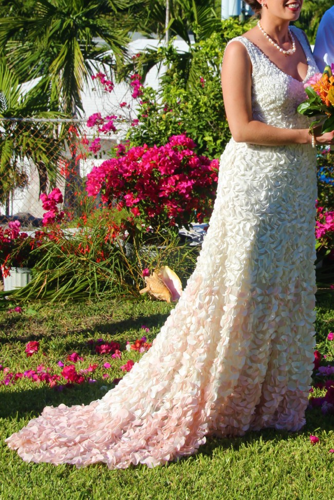 Theia Couture Emma Petal Gown