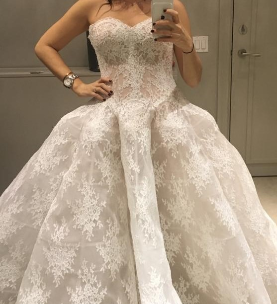 Monique Lhuillier Alexandra 80353
