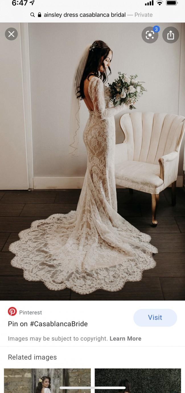 Casablanca Bridal Ainsley