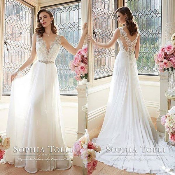 Cost Of Sophia Tolli Wedding Gowns: Sophia Tolli Augusta New Wedding Dress On Sale 31% Off
