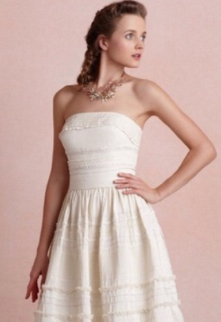 BHLDN Fondant Tea Dress