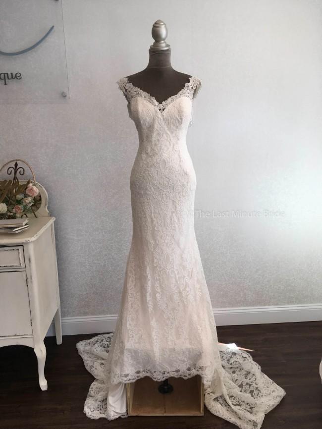 The Last Minute Bride Rings 55004
