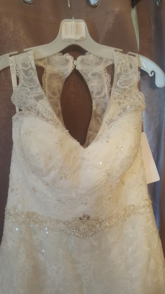 David's Bridal WG3799