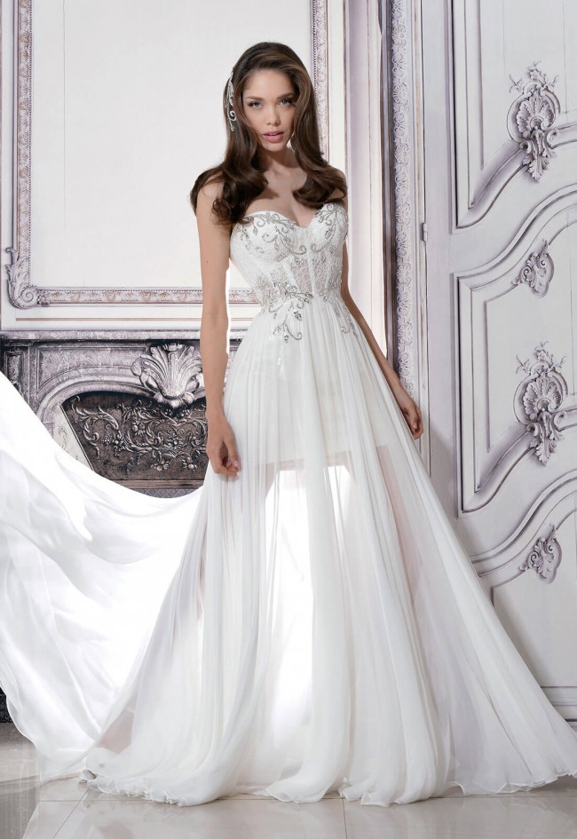 4846600f2d8e Pnina Tornai 4332 Second Hand Wedding Dress on Sale 50% Off ...