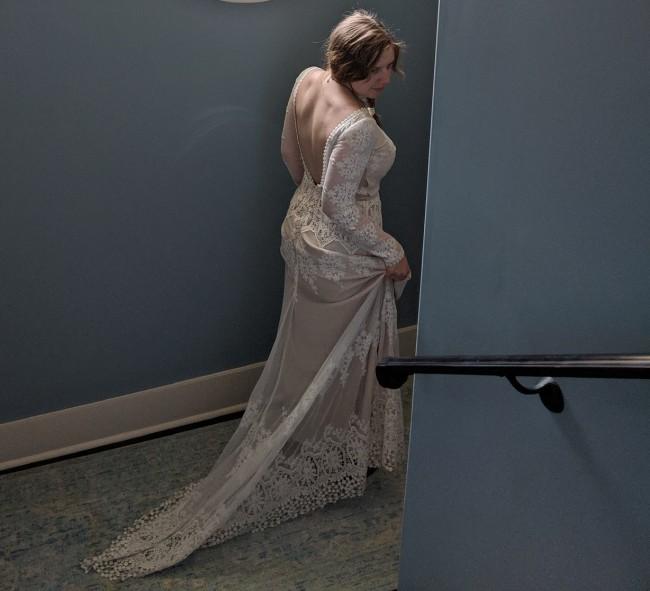 Dreamers & Lovers Lisa Lace Wedding dress (custom size)