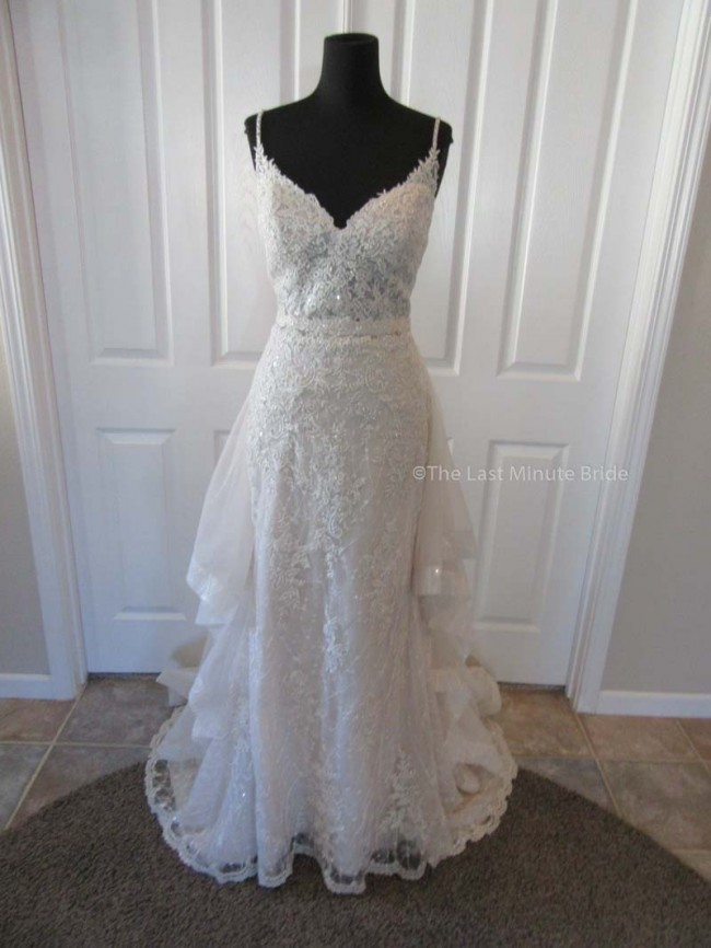 Sottero and Midgley Marcelle w/detachable overskirt