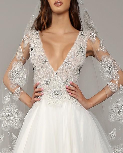 Jorge Manuel Marnie Gown New Wedding Dress On Sale 75 Off Stillwhite