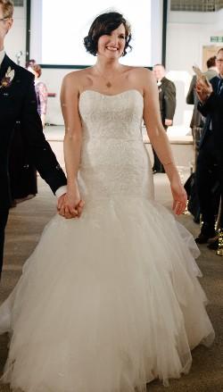 cb27d5766fa8 Oleg Cassini CWG737 Second Hand Wedding Dress on Sale 46% Off - Stillwhite  United Kingdom
