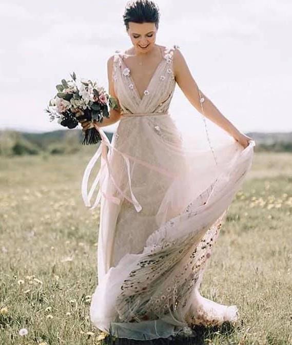 Unique Bridal Collection Rosa