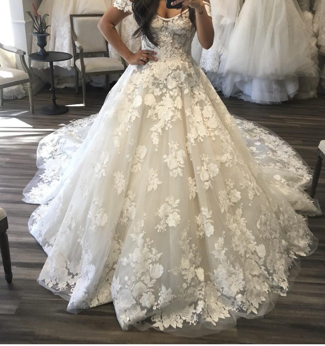 Ines Di Santo Sylvie New Wedding Dress