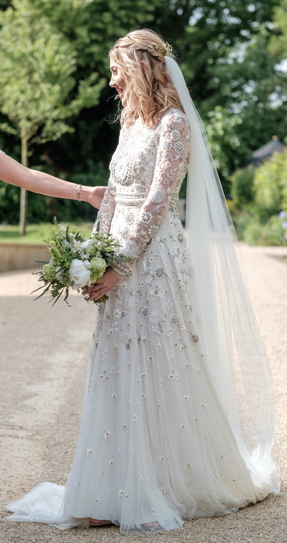 Needle Amp Thread Victorian Button Gown Second Hand Wedding