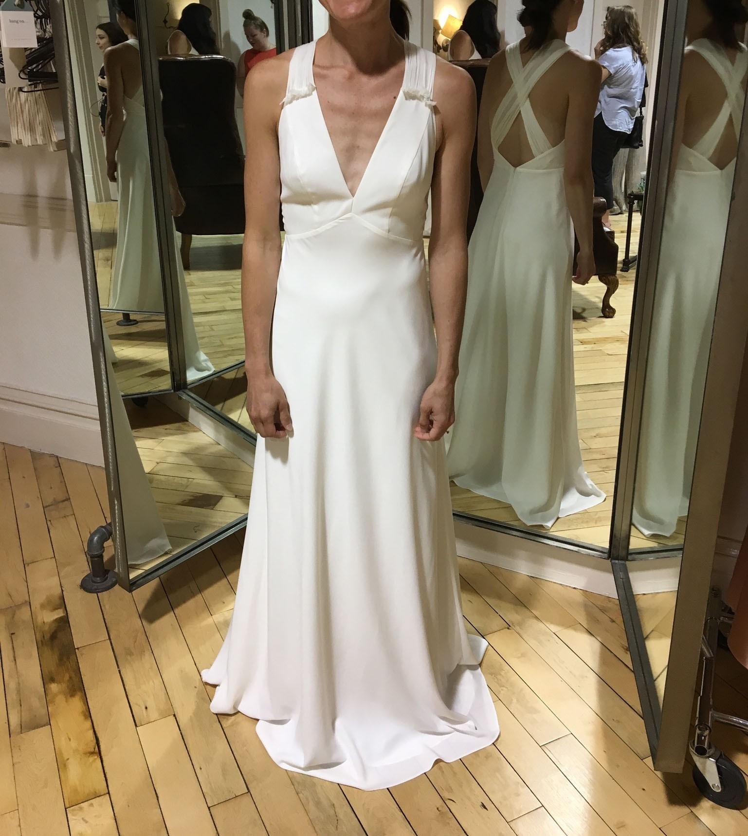 Jill Jill Stuart Ivory Nadine Dress New Wedding Dress On