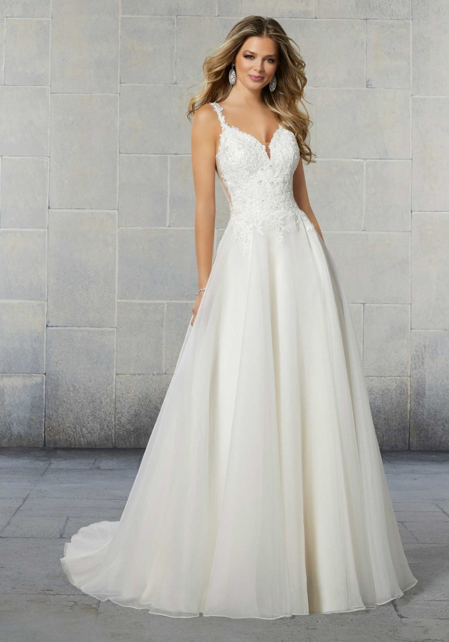 Madeline Gardner Sybil Wedding Dress - Voyage Bridal collection