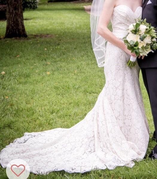 Allure Bridals Modern Trumpet Lace (#9210)