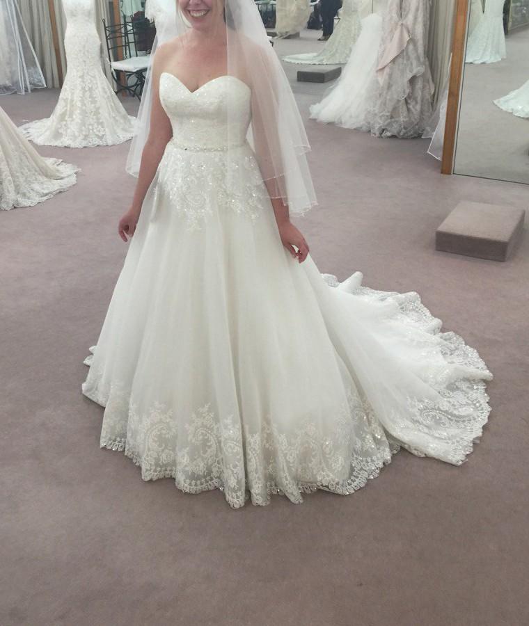 Maggie Sottero Zendaya Used Wedding Dress On Sale