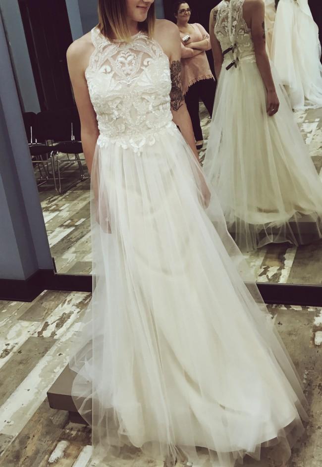 7abbe38975c Basix Black Label D7508L New Wedding Dress on Sale 38% Off - Stillwhite